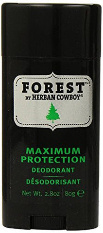 Herban Cowboy Forest Deodorant Maximum Protection 2.8 Ounce,