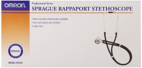 Omron Sprague Rappaport Stethoscope, Dark Blue