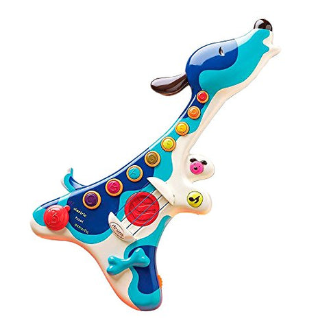 B. Woofer Guitar – Teaches Musical Discovery, Rhythm, and Creativity – Includes 3 Play Modes, 8 Musical Buttons, and Twenty Sing-Along Favorites