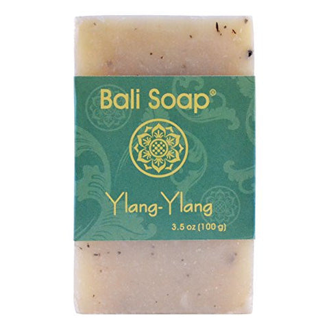 Bali Soap - Natural Bar Soap, Ylang-Ylang, 3.5 Oz each