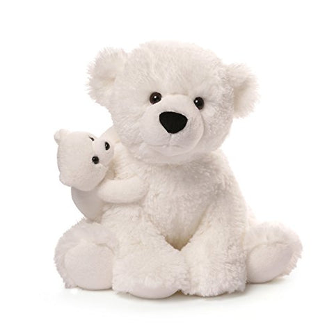 Gund Polar Bear & Baby Plush, 12