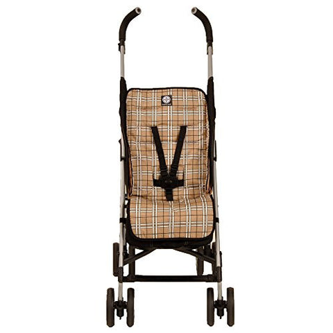 Balboa Baby Stroller Liner, Tan Plaid (Liner only)
