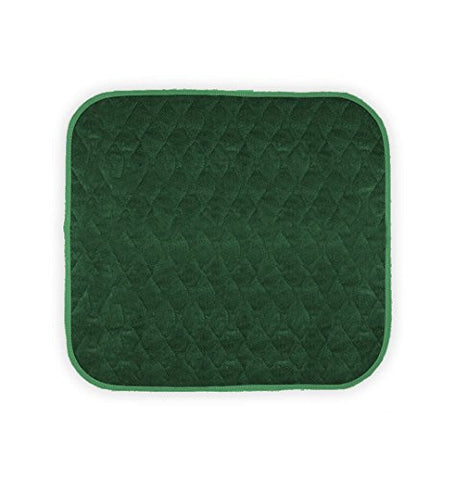 "Americare Absorbent Washable WaterproofSeat Protector Pads 21""x22"" - GREEN"