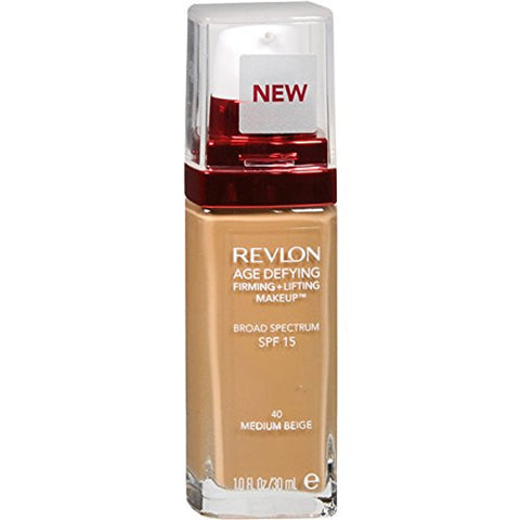 Revlon Age Defying Firming and Lifting Makeup, Medium Beige
