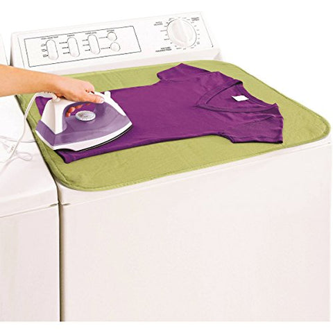 EZ-Iron 28 x 21 Mat By Evriholder Magnetic Ironing Surface Pad Heat Resistant Table Top