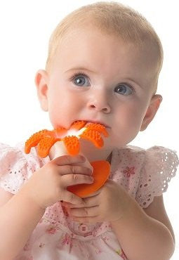Gums, Soothes Teething pain. 5 bright colors.Soft, Food Grade Silicone, FDA Approved.