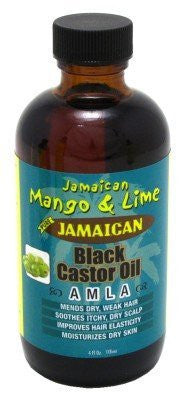 Jam. Mango & Lime Black Castor Oil Amla 4oz