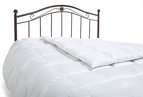 Northwood Down 800 Fill Power European White Goose Down 366 Thread Count Comforter, King