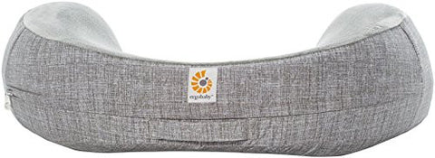 Ergobaby Natural Curve Nursing Pillow Cover, Heathered Grey