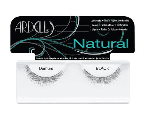 Ardell Fashion Lashes, Demure Black, 1 Pair