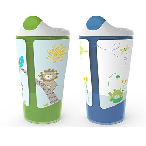 Born Free BPA-Free Grow with Me 10 oz. Sippy Cup, 2 Count