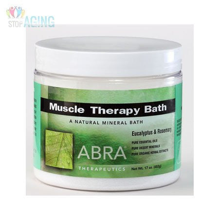 Abra Therapeutics Muscle Therapy Bath Eucalyptus & Rosemary -- 17 oz