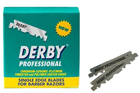 Blades Single Edge Derby Extra Super Stainless Razor Blades #Barber Razors (100 Blades)