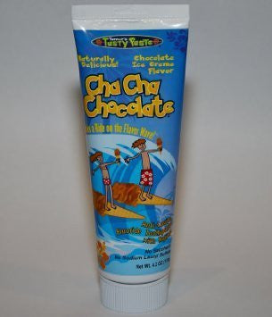Cha Cha Chocolate Toothpaste - Chocolate Ice Cream Flavor- Naturally Delicious - No Artificial Colors - Gluten Free - Not Harmful If Swallowed Accidentally - Kids Friendly - 4.2 oz