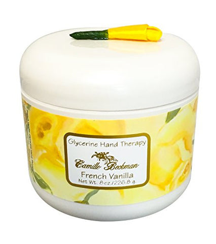 Camille Beckman Glycerine Hand Therapy, French Vanilla, 8 Ounce.