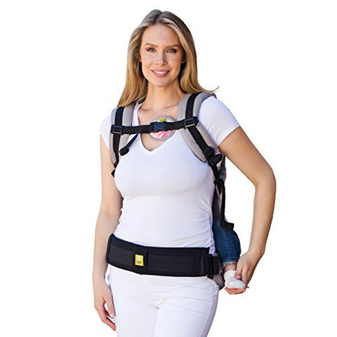 LILLEbaby Baby Carrier Tummy Pad (Black/Large)