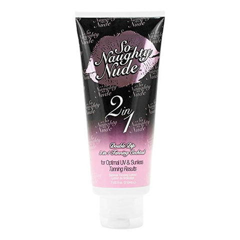 Devoted So Naughty Nude 2 in 1 Sunless ™ Double Dip 2 in 1 Tanning Cocktail