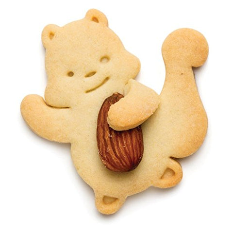 Nutter - Squirrel shaped cookie cutter