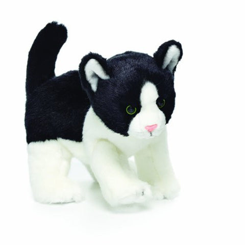 Nat and Jules Plush Toy, Black and White Cat, Small