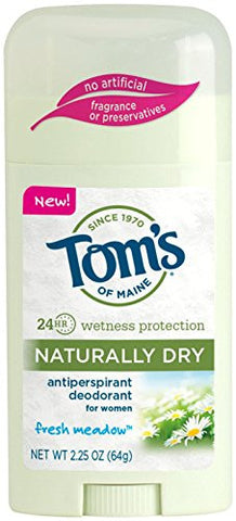Tom's of Maine Women's Naturally Dry Antiperspirant Stick - Fresh Meadow - 2.25 oz