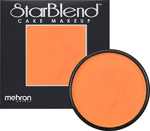Mehron StarBlend Cake Makeup - Orange O (2 oz)