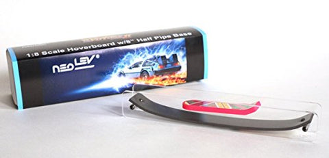 Back to the Future 1:8 Scale Hoverboard (Fingerboard) with 8 Half Pipe Base