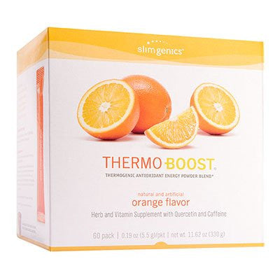 Thermo-Boost® Thermogenic Antioxidant Energy Powder Blend (Orange)