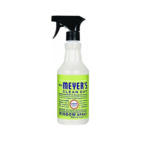 Mrs. Meyer's Clean Day Glass Cleaner, Lemon Verbena, 24-Ounce