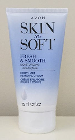 Avon Skin So Soft Fresh & Smooth Moisturizing Skin Hair Removal Cream
