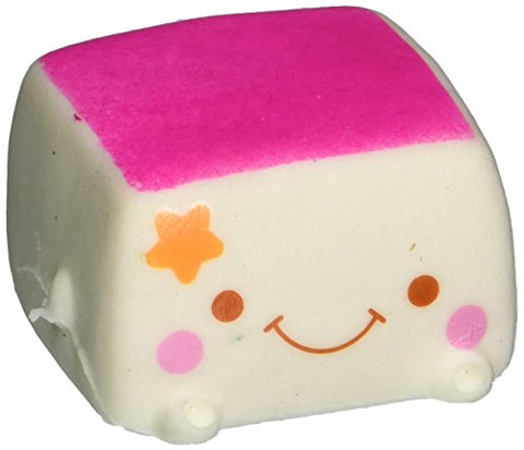 ZXUY Soft Squishy Chinese Tofu Adorable Expression Smile Face Fun Toy