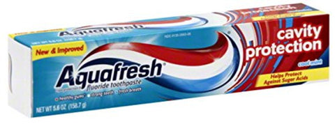 AQUAFRESH 5.6OZ CAVITY PROTECTION
