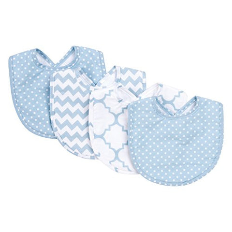 Trend Lab Sky Bib Set, Blue