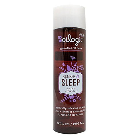 Slumber & Sleep Essential Oil Vapor Bath for Baby and Toddler 9oz by Oilogic Care