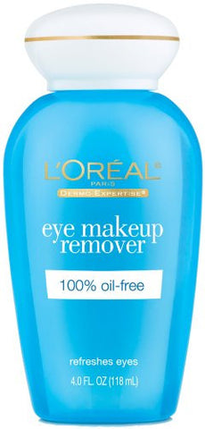 L'Oreal Paris Eye Makeup Remover, 100% Oil-Free