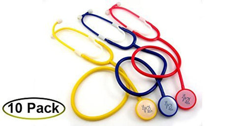 EMI Disposable Stethoscopes - Red
