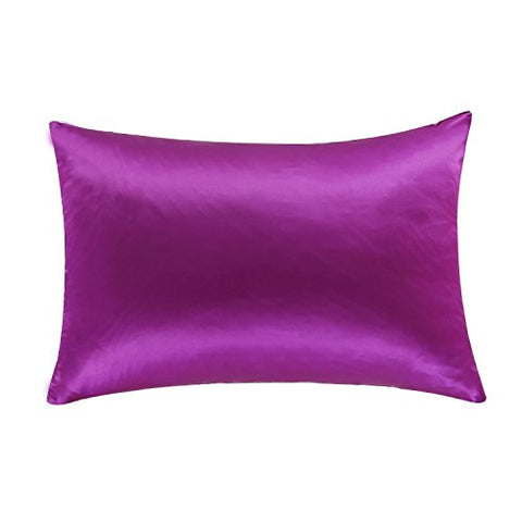 OOSILK Toddler Pillowcase 100% Natural Mulberry Silk Pillow Case for Baby Hypoallergenic 13inx18in,Violet
