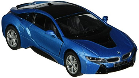 Kinsmart BMW i8 1:36 Scale Super Car, Blue