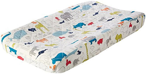 Pehr Designs Noah's Ark Change Pad Cover, Multi