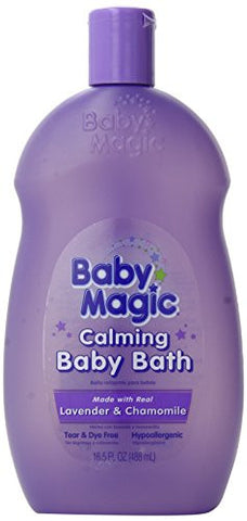 Baby Magic Calming Baby Bath, Lavender and Chamomile, 16.5 Ounces