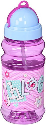 John Hinde Drink Bottle with Straw, Chloe