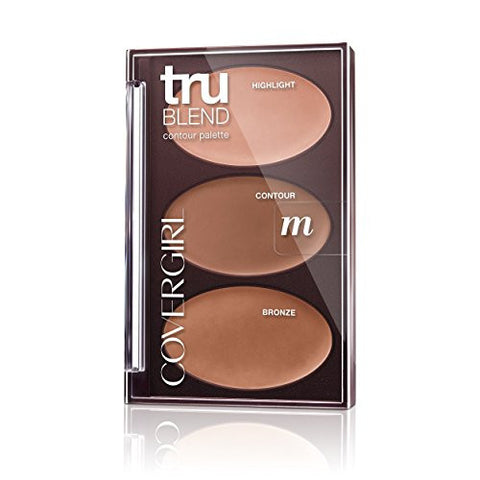 CoverGirl Trublend Contour Palette Medium 0.28 Oz, 0.161 Pound