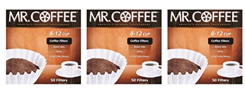 Mr. Coffee 8-12 cup Coffee Filters ( 3 count - 150 total filters )
