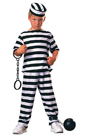 Haunted House Child Prisoner Costume, Small