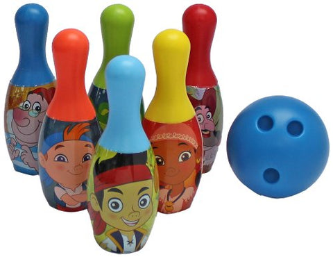 What Kids Want Jake and The Never Land Pirates Licensed Bowling Set