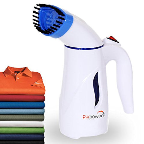 Garment Steamer | Portable Steamer Handheld With High Capacity | Travel Steamer | clothes steamer | Hand Steamer Clothes | Fast Heat up | Included 1 Brush | Spit Free Hand Held Steamer