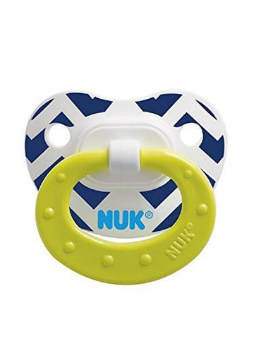 NUK Fashion Patterns Orthodontic Pacifier 6-18 Months