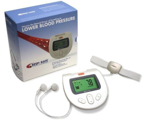 RESPeRATE Ultra - Blood Pressure Lowering Device For Non-Drug Hypertension Reduction