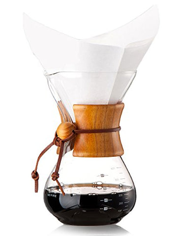 Diguo Glass Coffee Maker Classic Series Glass Coffeemaker (600ml/20oz/4-5 Cups)