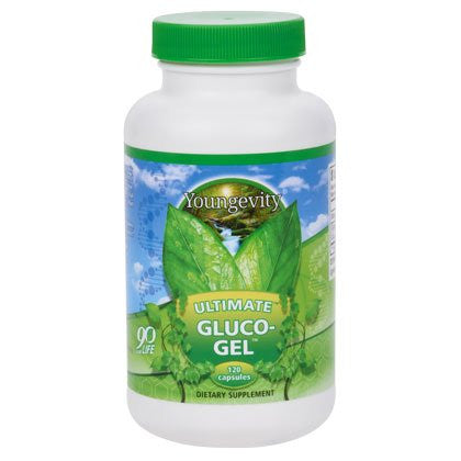2 Bottles Ultimate Gluco-Gel 240 Capsules Each Youngevity Glucosamine Sulfate 500mg Joint Support (Ships Worldwide)