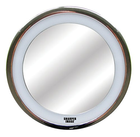 Sharper Image 01269 LED Anti-Fog Shower Mirror Silver